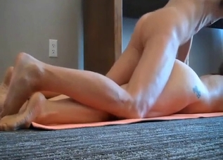 Mommy enjoying intense incest after yoga