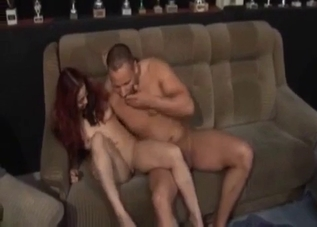 Redhead gets raped by her hung brother