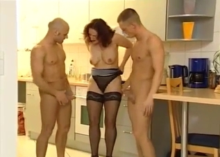 Mommy has to fuck her horny sons on cam