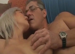 Busty brunette ass-fingered by her dad, forcibly