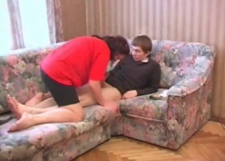 Mommy gets to fuck her big-dicked son
